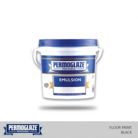 Permoglaze Floor Paint Black