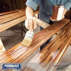 Permoglaze Sanding Sealer Mahogany