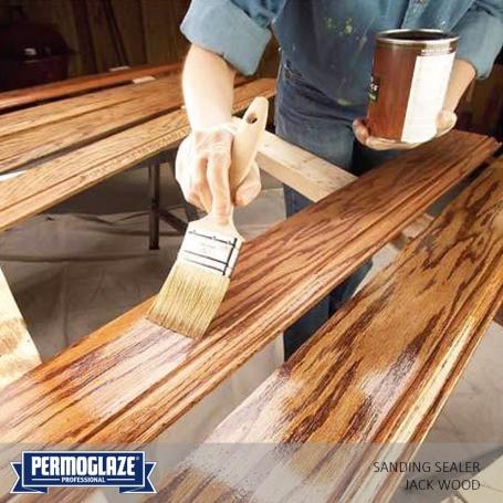 Permoglaze Sanding Sealer Jack Wood Bnshardware Sanding