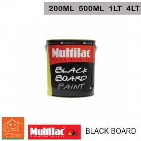 Multilac Black Board Paint Matt Finish