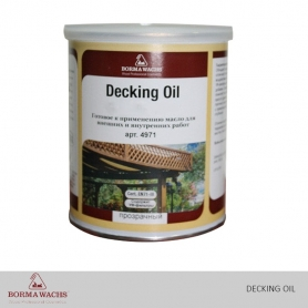 Borma Wachs Decking Oil