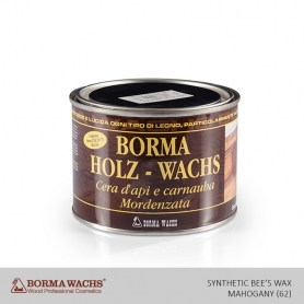 Borma Wachs Synthetic Bee's Wax Mahogany (62)
