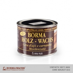 Borma Wachs Synthetic Bee's Wax Dark Walnut (63)