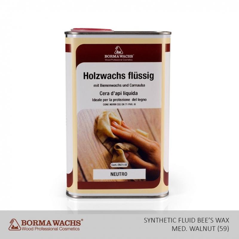 Borma Wachs Synthetic Fluid Bee S Wax Mahogany 62