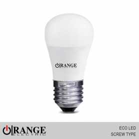 Orange ECO LED Screw Type