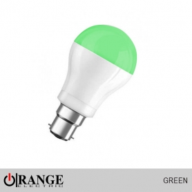 Orange Deco LED Pin Type Green