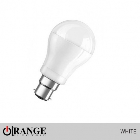 Orange Deco LED Pin Type White