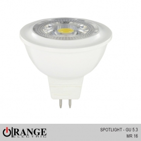Orange Spotlight GU 5.3 MR 16 - DC