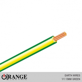 Orange Earth Wires Green 50M