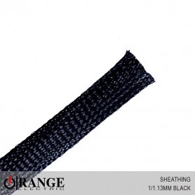 Orange Sheathing Black 50M