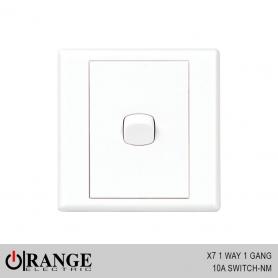 Orange X7 1 Way 1 Gang 10A Switch - NM