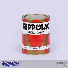 Nippolac Gold Paint Glitter - Water Base