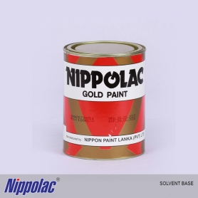 Nippolac Gold Paint Solvent Base