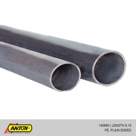 Anton uPVC Pressure Pipes (PE / SS) 140MM