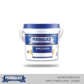 Permoglaze Exterior Emulsion Grey, Pink & Red - Colors