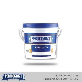 Permoglaze Exterior Emulsion Natural & Cream - Colors