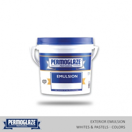 Permoglaze Exterior Emulsion Whites & Pastels - Colors