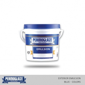 Permoglaze Exterior Emulsion Blue - Colors