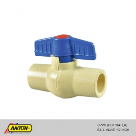 Anton C PVC (Hot Water) Ball Valve 1/2