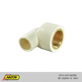 Anton C PVC (Hot Water) BR/Elbow 1/2
