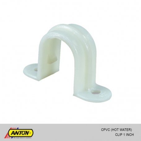 Anton c pvc hot water clip 1 for Pvc for hot water