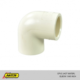 Anton C PVC (Hot Water) Elbow 1 x 45