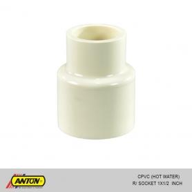 Anton C PVC (Hot Water) R/Socket 1 x 1/2
