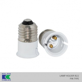 Kelani Lamp Holder B22 (Screw Type)