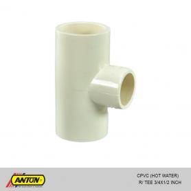 Anton C PVC (Hot Water) R/Tee 3/4 x 1/2