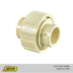 Anton C PVC (Hot Water) Union 1/2