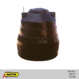 Anton Biocell Filter Tank - 2000 Ltr