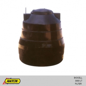 Anton Biocell Filter Tank - 3000 Ltr