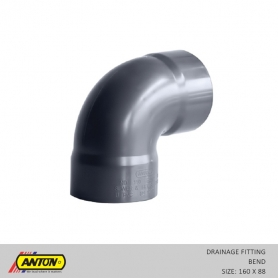 Anton Drainage Fittings - DR/Bend 160 x 88