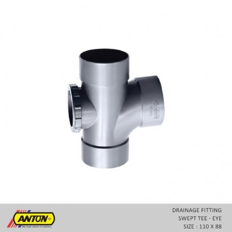Anton Drainage Fittings - DR/Swp T 110 x 88 Eye