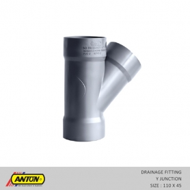Anton Drainage Fittings - DR/Y - Jun 110 x 45