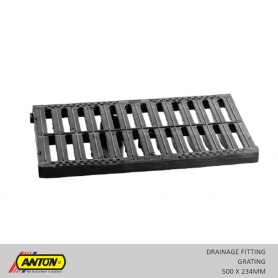 Anton Drainage Fittings - Grating 500 x 234MM