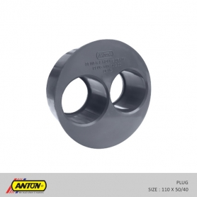Anton Drainage Fittings - Plug 110 50/40