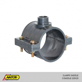 Anton Clamp Saddle (225 x 25)