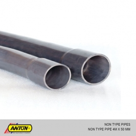 Anton Non Type Pipe - 4m x 50mm