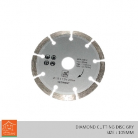 Diamond Cutting Disc Dry (105mm)