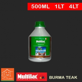 Ital Wood Exterior Water Based Wood Exterior Stain Wax - Burma Teak