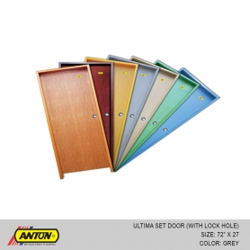 Anton Door - Ultima With Lock Hole 72'' x 27'' GY