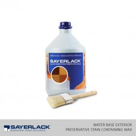 Sayerlack Water Base Exterior Preservative Stain Containing Wax