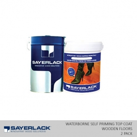 Sayerlack Waterborne 2 Pack Self Priming Top Coat For Wooden Floors