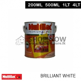 Multilac Gloss Enamel Brilliant White