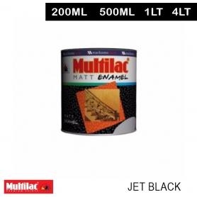 Multilac Matt Enamel Jet Black