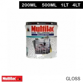 Multilac Non Yellowing Enamel Brilliant White Gloss