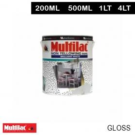 Multilac Non Yellowing Enamel Brilliant White Gloss