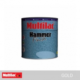 Multilac Hammer Finish Paint Gold