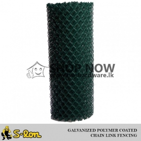 S-Lon Guardian Grade A - Chain Link Fencing - Galvanized and PVC Coated - ( 63mmx 63mm ) - ( 2 1/2 in x 2 1/2 in )